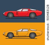 super car vector illustration.... | Shutterstock .eps vector #503483128