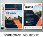 flyers design template vector.... | Shutterstock .eps vector #503484949