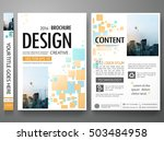 brochure design template vector.... | Shutterstock .eps vector #503484958