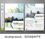 brochure design template vector.... | Shutterstock .eps vector #503484979