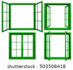 Collection Of Green Window...