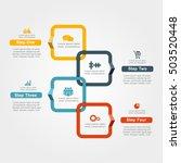 infographic design template...   Shutterstock .eps vector #503520448
