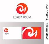 vector logo ornamentation sign... | Shutterstock .eps vector #503520490