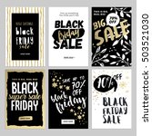 set of mobile sale banners.... | Shutterstock .eps vector #503521030