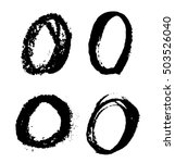 vector grunge circles.hand...   Shutterstock .eps vector #503526040