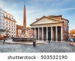 Rome   Pantheon  Nobody