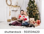 christmas family | Shutterstock . vector #503534620