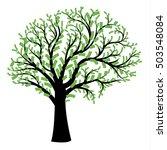 money tree in shape of human... | Shutterstock .eps vector #503548084