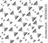 vector seamless pattern. modern ... | Shutterstock .eps vector #503548210