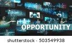 opportunity presentation... | Shutterstock . vector #503549938