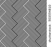 lines repeatable geometric... | Shutterstock . vector #503554810