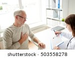 medicine  old age  healthcare ... | Shutterstock . vector #503558278
