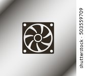 computer cooler illustration. | Shutterstock .eps vector #503559709