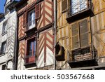 architecture of rennes ... | Shutterstock . vector #503567668