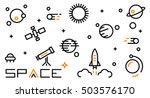 space icon. space icon vector....