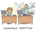 cartoon illustration of bad...   Shutterstock .eps vector #503577160