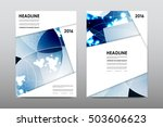 brochure layout template flyer... | Shutterstock .eps vector #503606623