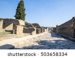 Ruins Of Ancient Pompeii In...