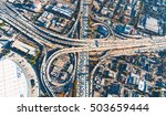 aerial view of a massive... | Shutterstock . vector #503659444