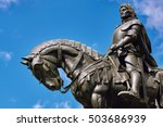 King Matthias Corvin Statue In...