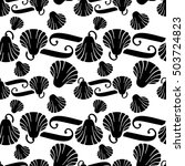 seamless pattern with... | Shutterstock . vector #503724823