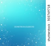 big data complex. graphic... | Shutterstock .eps vector #503769718
