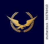 falcon logo   Shutterstock .eps vector #503783410