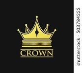 crown logo | Shutterstock .eps vector #503784223