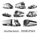 Automotive Transport Monochrome ...