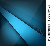 blue vector background with...   Shutterstock .eps vector #503859424
