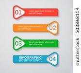 vector infographic template | Shutterstock .eps vector #503868154