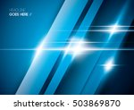 vector of abstract shinny... | Shutterstock .eps vector #503869870