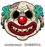 vector illustration of cartoon... | Shutterstock .eps vector #503880913