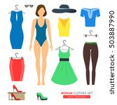 Girl Or Woman Clothes Set Like...