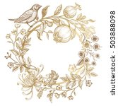 luxury card for invitations ... | Shutterstock .eps vector #503888098