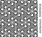 hexagon pattern  stylish... | Shutterstock .eps vector #503898418