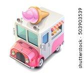 ice cream truck | Shutterstock .eps vector #503903539
