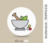 line icon  pharmacy | Shutterstock .eps vector #503941216