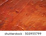 oil painting texture | Shutterstock . vector #503955799