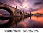 Majestic Charles Bridge During...