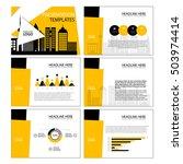 business template design set...   Shutterstock .eps vector #503974414