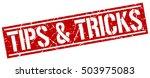 tips   tricks. grunge vintage... | Shutterstock .eps vector #503975083