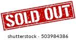 Sold Out. Grunge Vintage Sold...