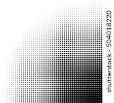 circle halftone pattern  ... | Shutterstock .eps vector #504018220