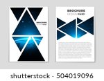 abstract vector layout... | Shutterstock .eps vector #504019096