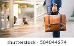 closeup of a businessman wear... | Shutterstock . vector #504044374