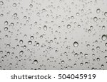 Background Raindrops On The...