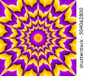 yellow and purple background... | Shutterstock .eps vector #504062800
