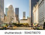 new york city   oct 18  grand... | Shutterstock . vector #504078070