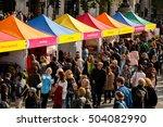 london  uk. 15th october 2016.... | Shutterstock . vector #504082990